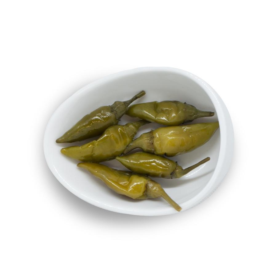 Peperoncini Piccanti Verdi