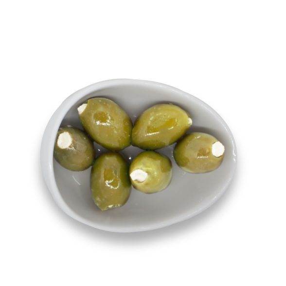 Olives Stuffed With Fresh Cheese