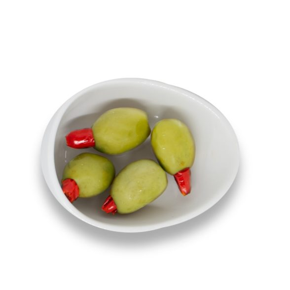 Olives Stuffed With Chili Peppers
