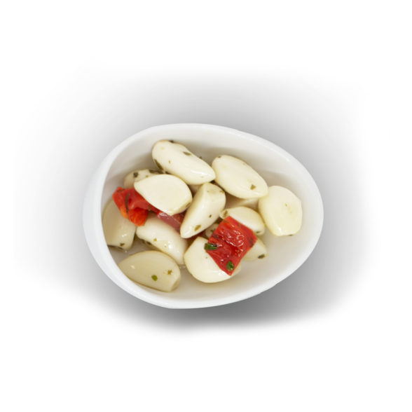 Sweet Garlic with Chili Pepper