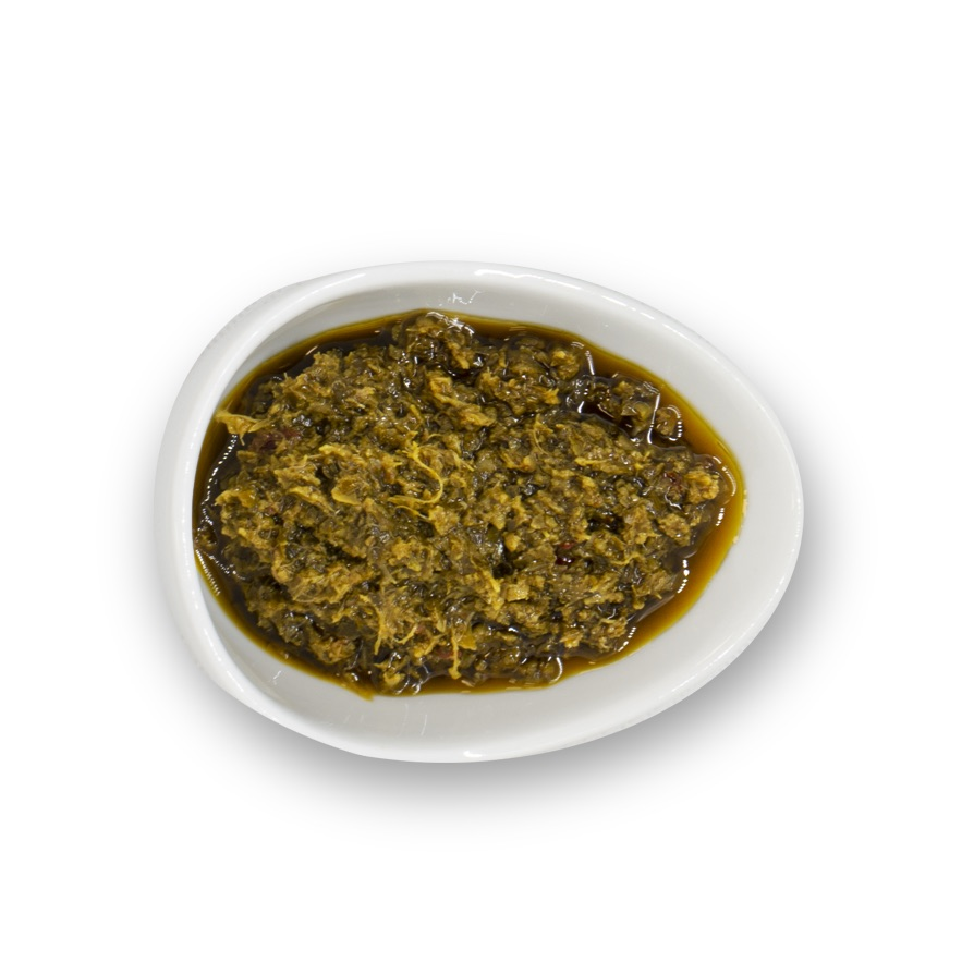 Pesto With Anchovies