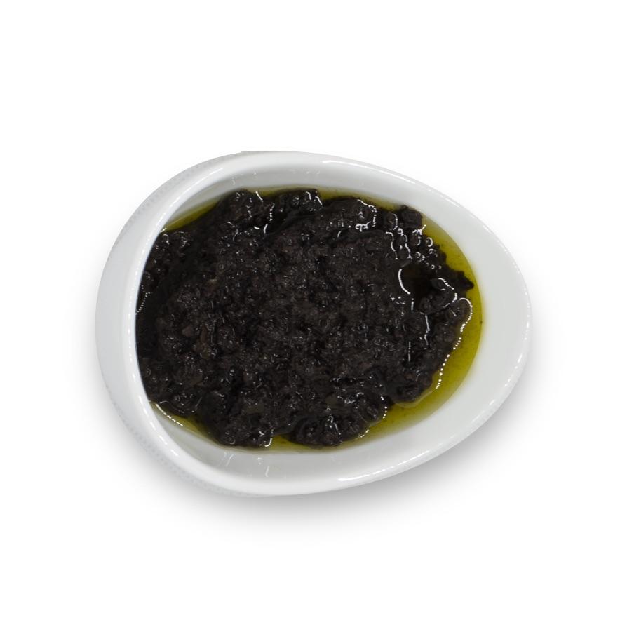 Patè di Olive Nere Per Tartine