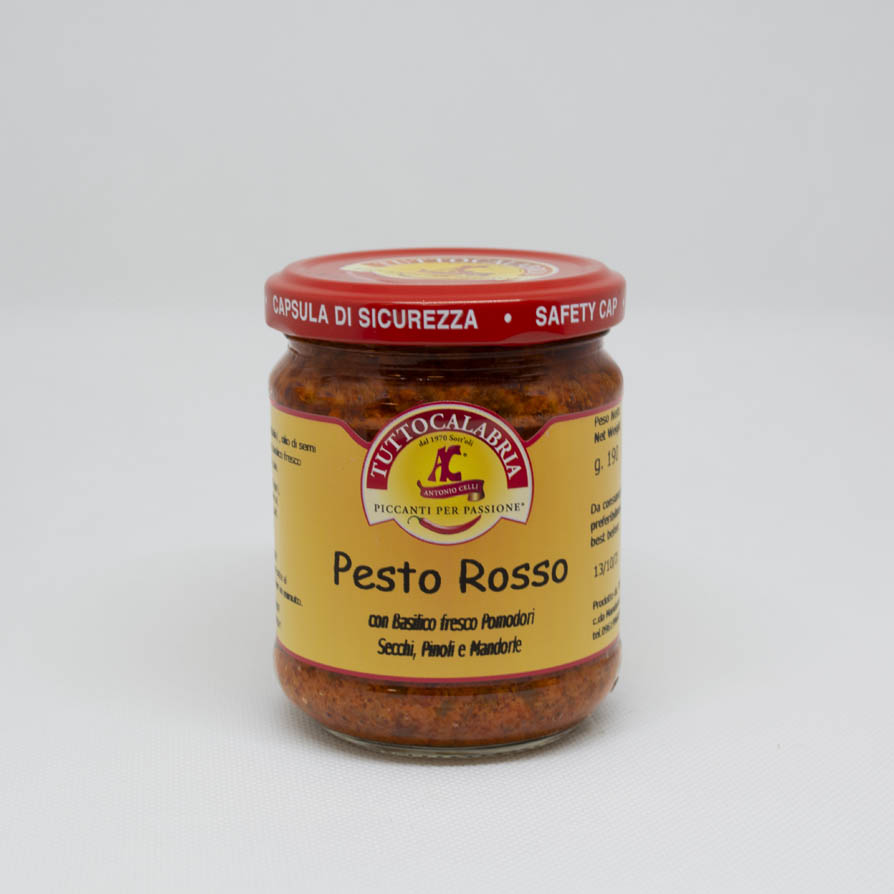 Red Pesto with Dried Tomatoes