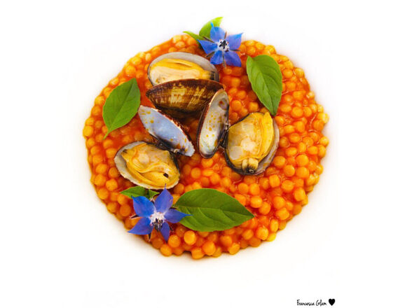 Fregola with Clums